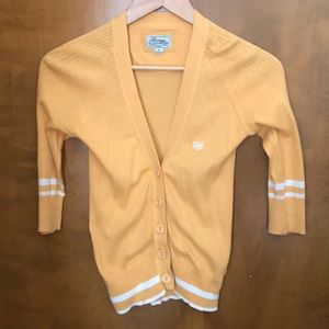 Heritage 1981 yellow cardigan M